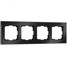Рамка Aluminium черный алюминий W0041708