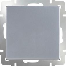 Переключатель Серебряный WL06-SW-1G-C