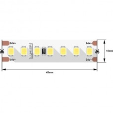 Светодиодная лента LUX DSG2168-24-W-33