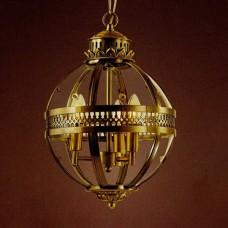 Подвесной светильник 115 KM0115P-4M antique brass
